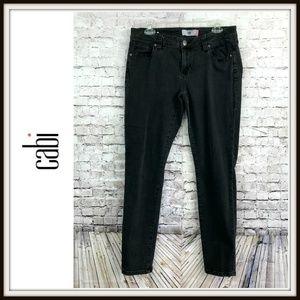 CAbi Jeans - Cabi Pitch Gunmetal Black Super Skinny Jeans